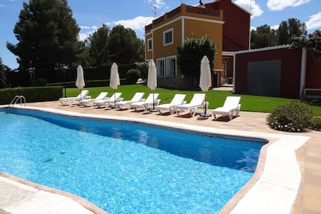 Villa Iris - Private Tennis and Pool/20 persons - El Corral d'en Tort