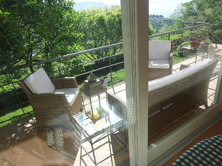 Villa Lilia. Appartamento in Costiera Amalfitana