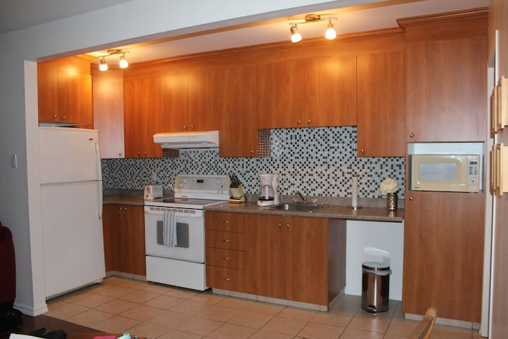 Appartement privée moderne à Arvida - Saguenay - Appartement