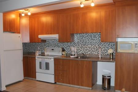 Appartement privée moderne à Arvida - Saguenay - Apartamento