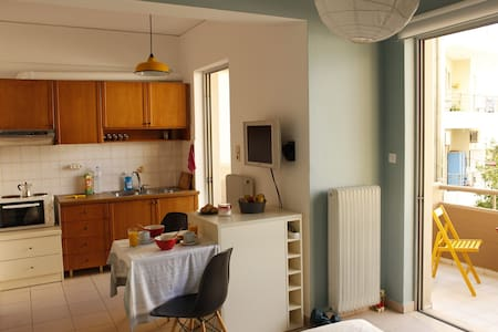 Cozy studio apartment in Heraklion - Appartement