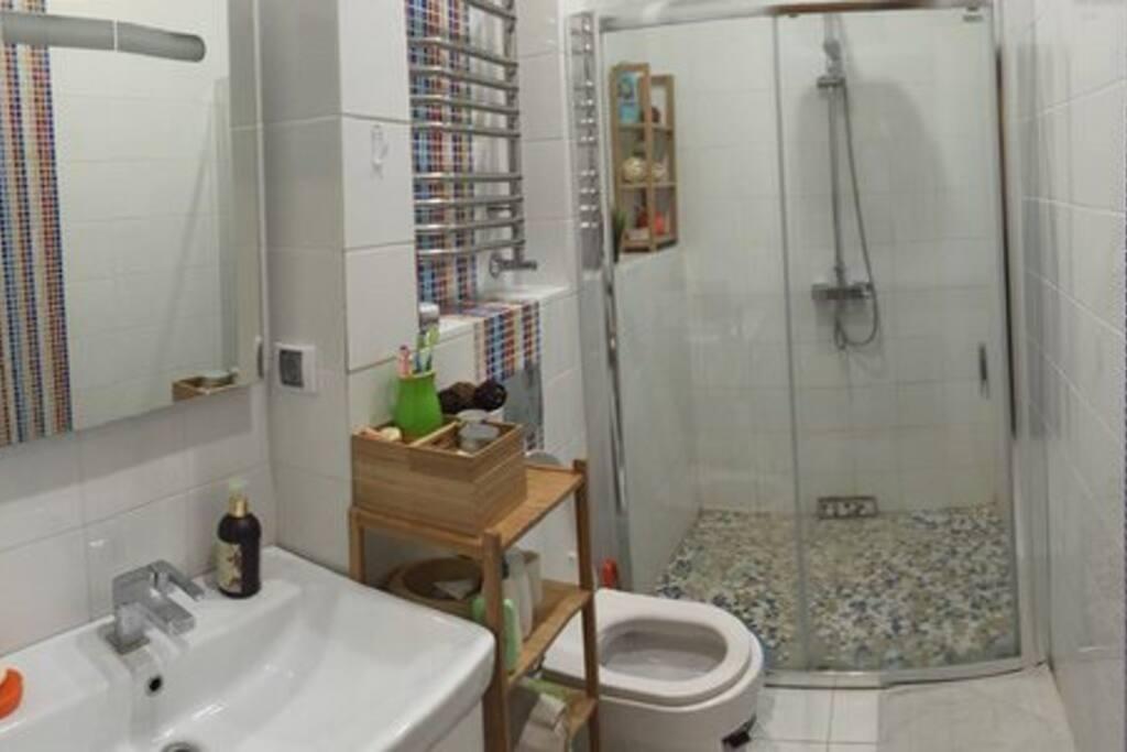 Ванная первый этаж