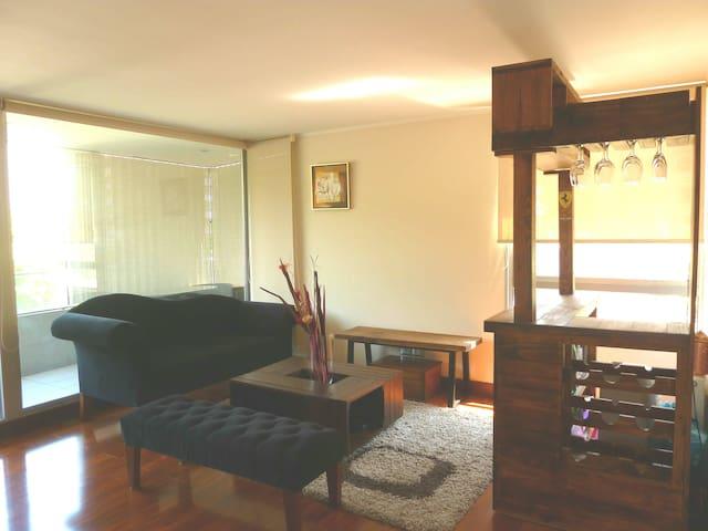 Luminoso Departamento equipado Lo Barnechea - Lo Barnechea - Wohnung