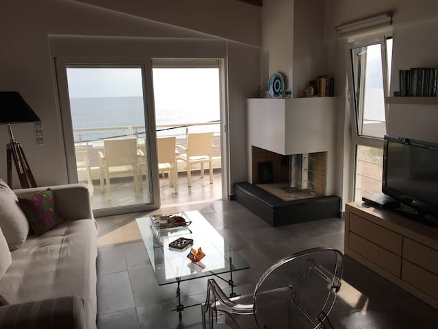Apartement with Aegean sea view - Agia Anna