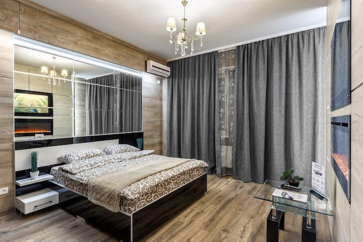 Стиль и комфорт - новая квартира в самом центре