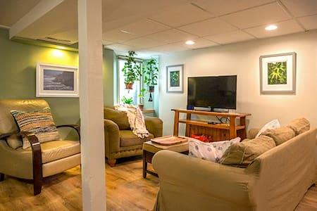 Garden Level Private Suite in Historic Home