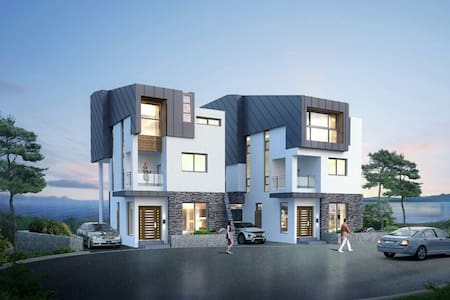 Twins 여수 엑스포 오동도 야경 단독 3층주택   美丽的丽水 - 여수시