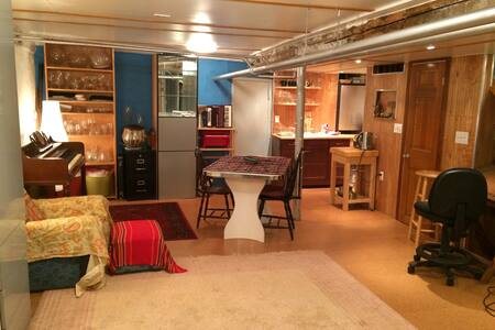 Cute, spacious basement apartment