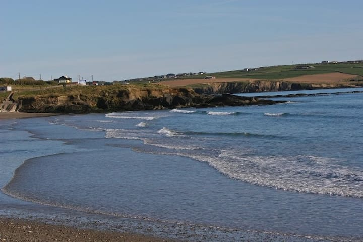 Garretstown beach is less than 5 mins drive from the boat.