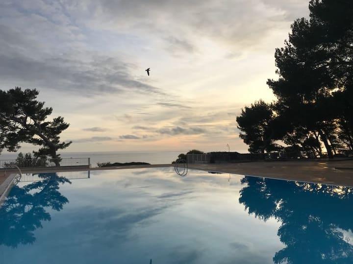 Bandol Athéna Port vue mer pour 4 personnes