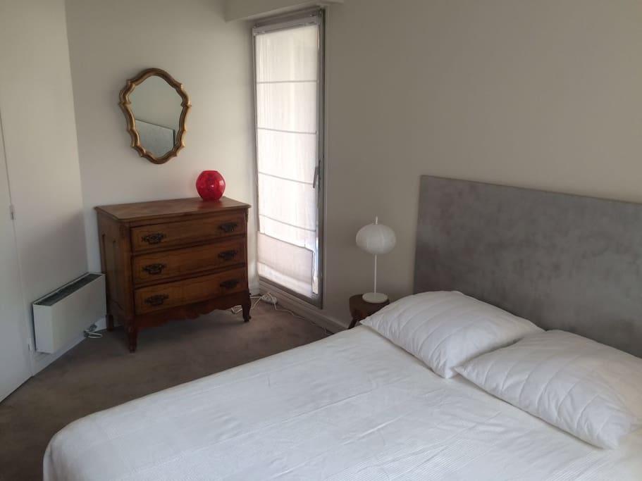 Chambre - lit 1,60cm