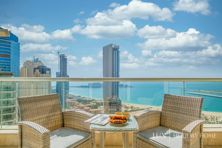 LUX | The Dubai Marina Beach View Suite