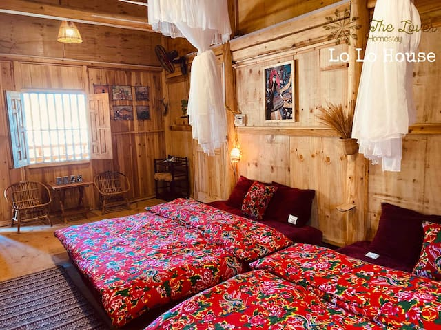 Dong Van*Lô Lô Chải Village *4Pax*BathR Private