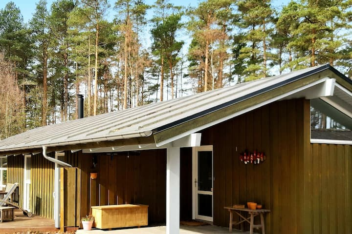 Scenic Holiday Home in Jutland With Terrace