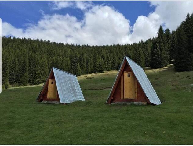 """Bungalows in National park """"Prokletije"""""""