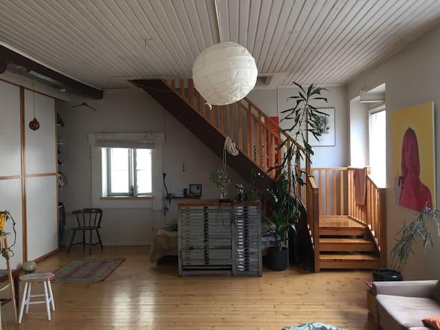 Loft apartement in Kallio