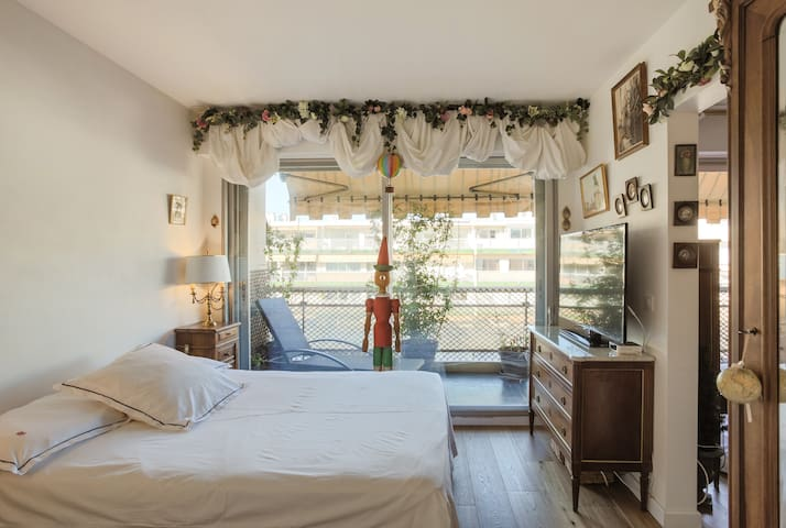♥ Charming Flat, Beach and Train Station nearby ♥