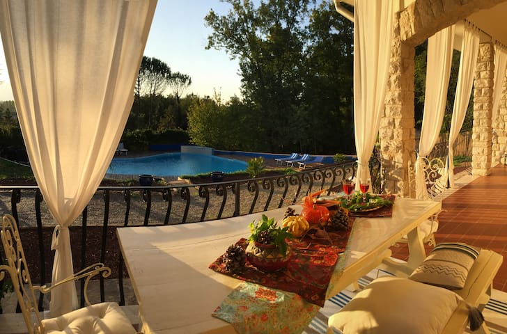 Pool&Country Paradise between Pisa and Florence