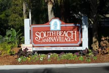 South Beach Marina within walking distance of 1410 South Beach Villa