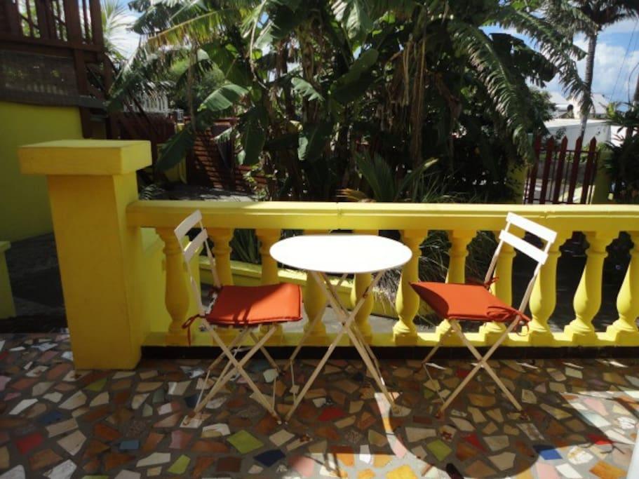 Terrasse ou espace privatif pour chaque logement