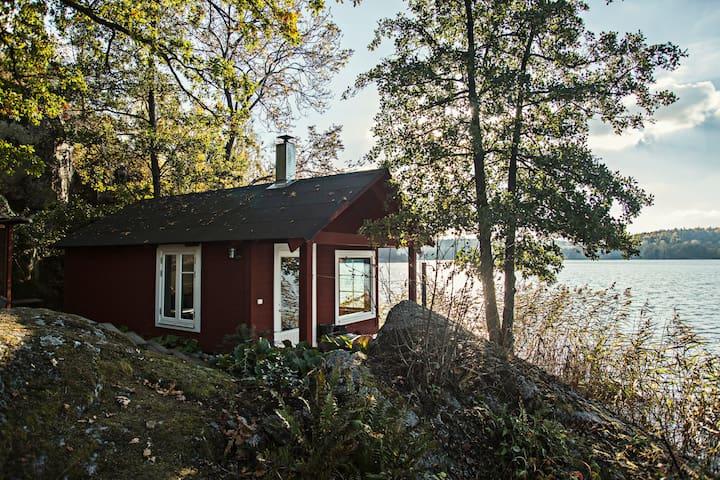 Extraordinary Lake House with Sauna - Худдинге - Бунгало