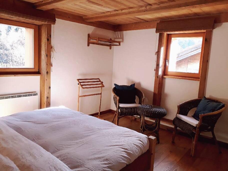 Chambres priv es dans chalet tr s confortable chambres for Chambre a louer verbier