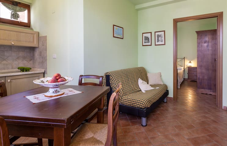 Discover Umbria! Apartment The Lizard - Cannara - Huoneisto