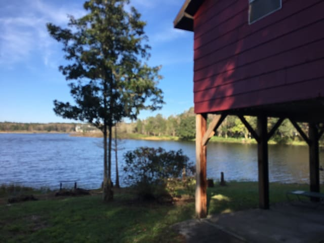 Rustic Lake Home Vacation Rental (1 mi rough road)