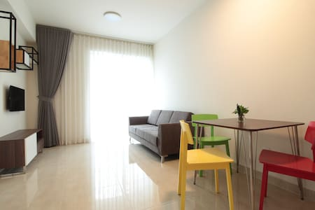 Deluxe apartment with free pool, fitness & yoga