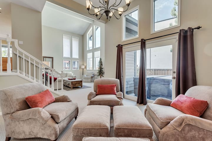 Great Room with windows galore!
