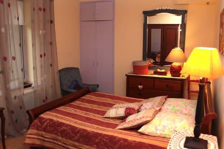 LA VIGNE VIERGE - Chambre Double Coquelicot - Castillon-en-Couserans - Wohnung