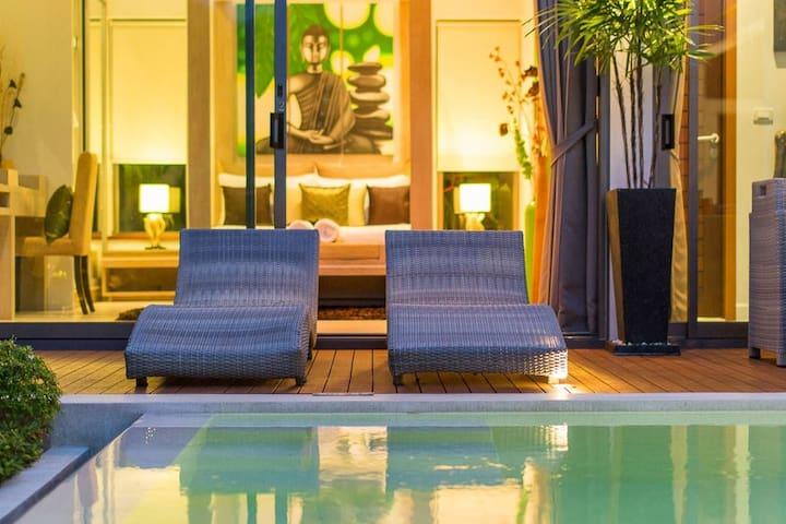 Magnificent Villa, Salt Pool, 2 bedrooms, Rawai-F2