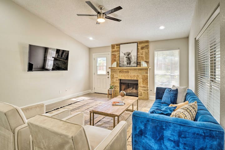 NEW! Austin Suburb House w/ Entertainment Patio!