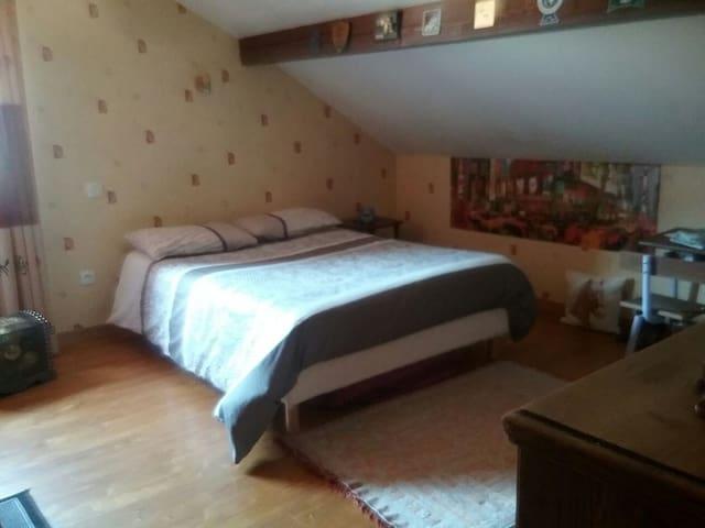 Chambre calme dans maison privée - Saint-Michel-de-Maurienne - 一軒家