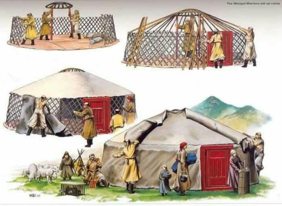 Nomadic house