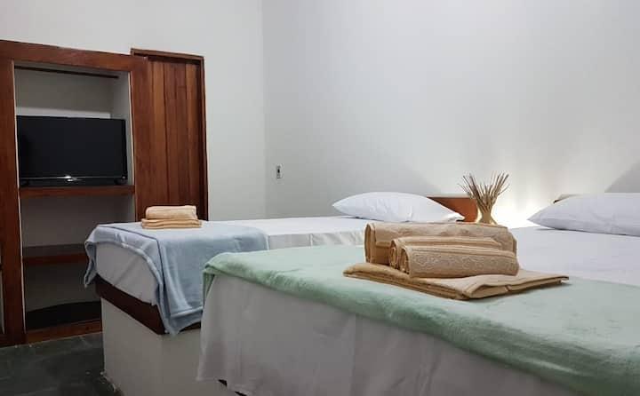 Casa Antiga Hospedagem - Taipu de Fora - Quarto 1