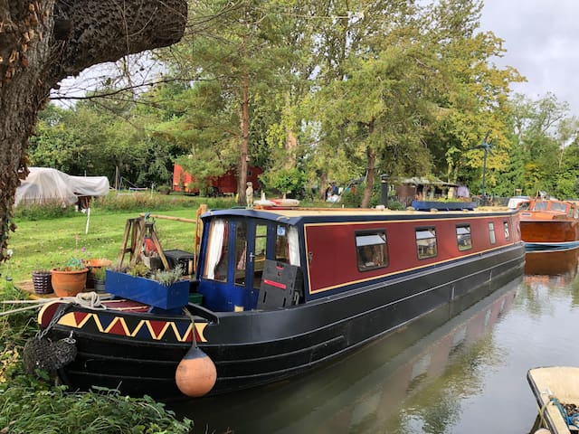 Cosy Narrowboat in Lechlade-on-Thames