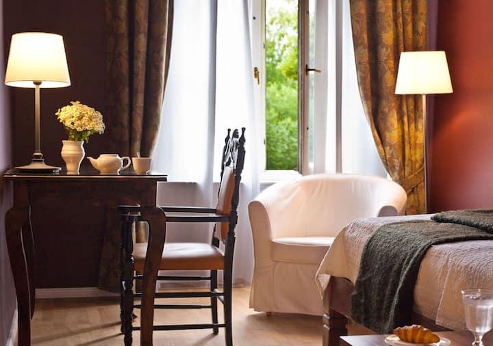 Einzelzimmer - Natur & Event Hotel -