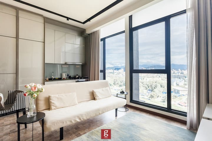 ❤️G!❤️ 豪华1房3人住Luxury Suites 1BR EXP