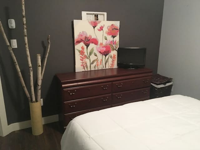 1 Bedroom Cozy Apt-Private-Minutes from Airport