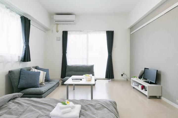 ☆Near the Naha airport 4 people can stay☆free-Wifi - Naha-shi - Apartamento