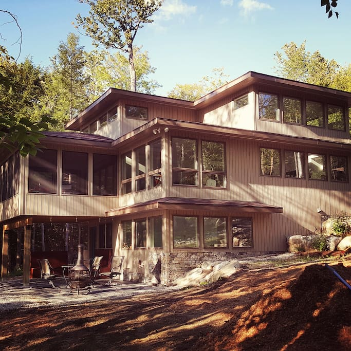 Exterior View, Lake Home