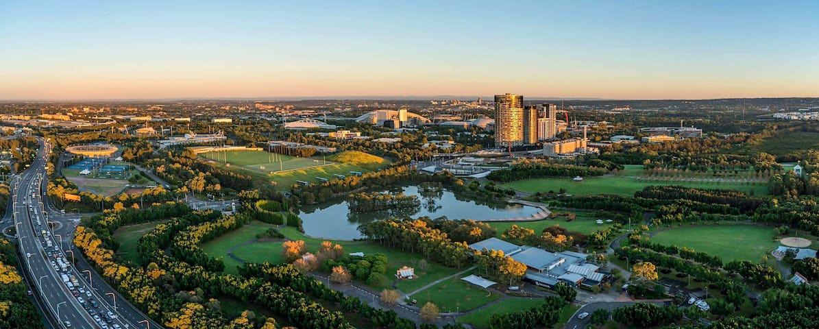 Luxurious Apartment Sydney Olympic Park