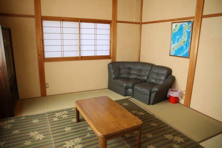 民泊瀧 和室2
