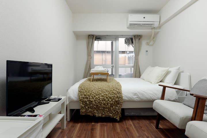 Free WIFIShinjuku 3mins! Comfy room!/ Samurai I1 - Shinjuku-ku - Pis
