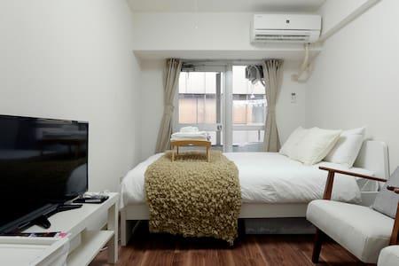 ◆Free WIFI◆Shinjuku 3mins! Comfy room!/ Samurai I1 - Shinjuku-ku - Appartement