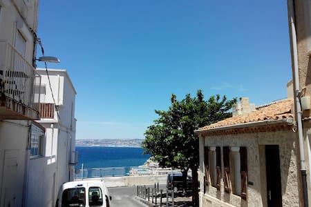 Appartement terrasse proche plages et Vieux Port - Marseille - Apartment