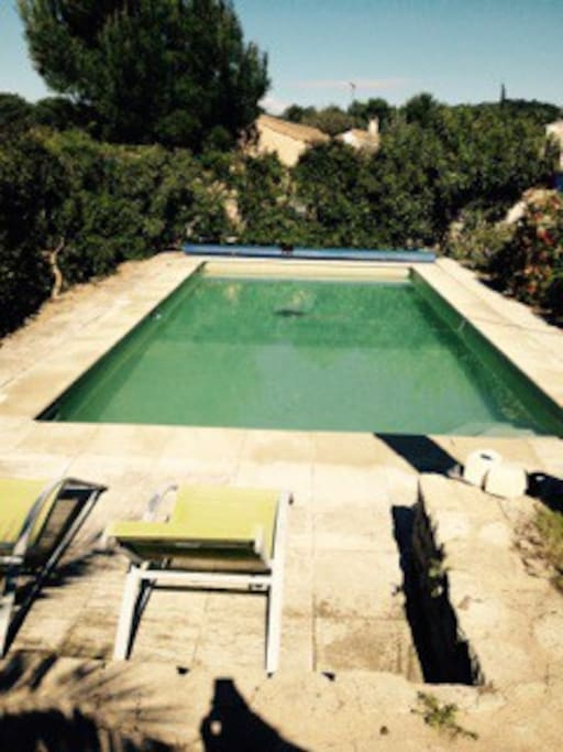 Maison piscine houses for rent in les angles for Piscine les angles