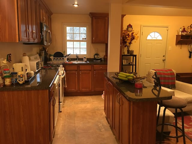 Private Room only minutes to the city! - Hyattsville - Maison