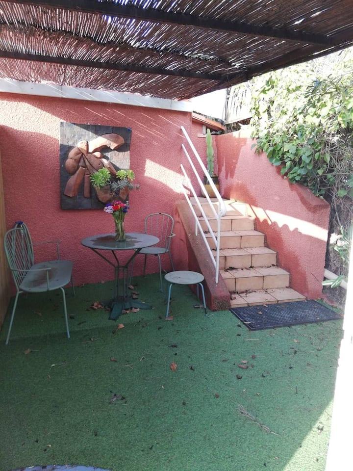 T2 pour 4 personnes avec terrasse à 150 mètres de la plage - HYERES LA CAPTE